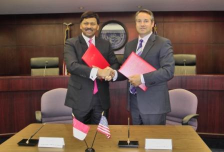 CASINO REGULATORY AUTHORITY OF SINGAPORE SIGNS MEMORANDUM OF UNDERSTANDING WITH NEVADA GAMING CONTROL BOARD