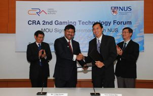 CASINO REGULATORY AUTHORITY TO COLLABORATE WITH NUS TO CONDUCT JOINT RESEARCH ON CASINO GAMING IN SINGAPORE